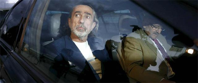 El chófer de Correa recogió al contable de la Gürtel en la entrada de La Zarzuela