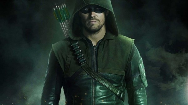 Arrow con Stephen Amell