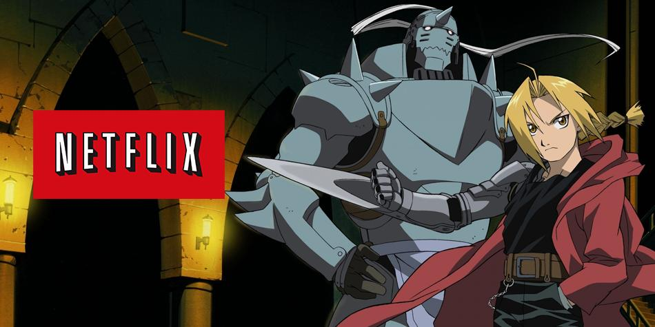 Fullmetal Alchemist disponible en Netflix