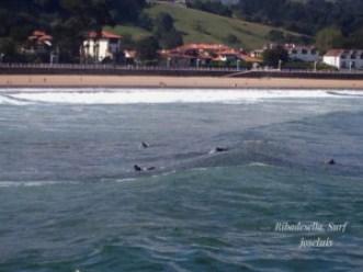 Surf playa de Ribadesella
