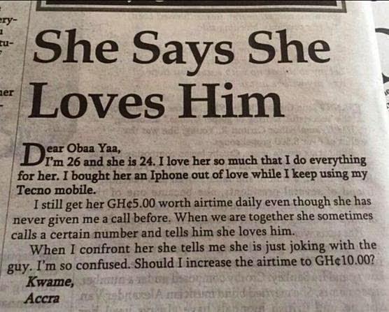 Ghanain man
