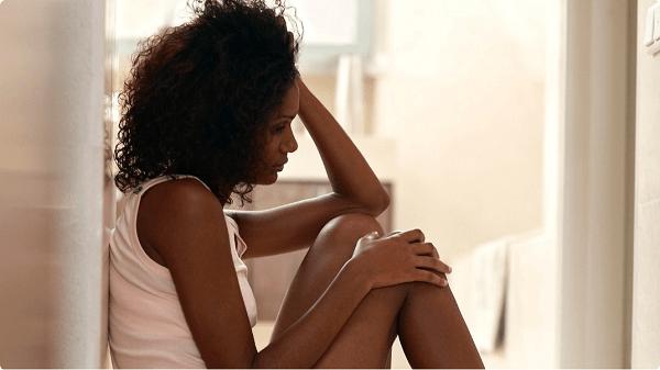 woman worry