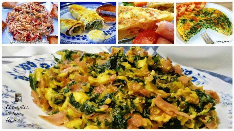 TORTILLAS Y REVUELTOS (10 recetas)