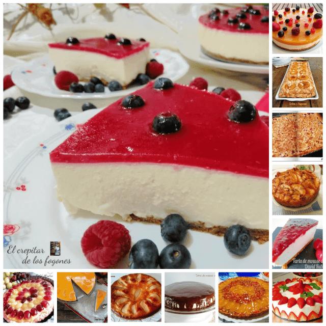 tartas con frutas