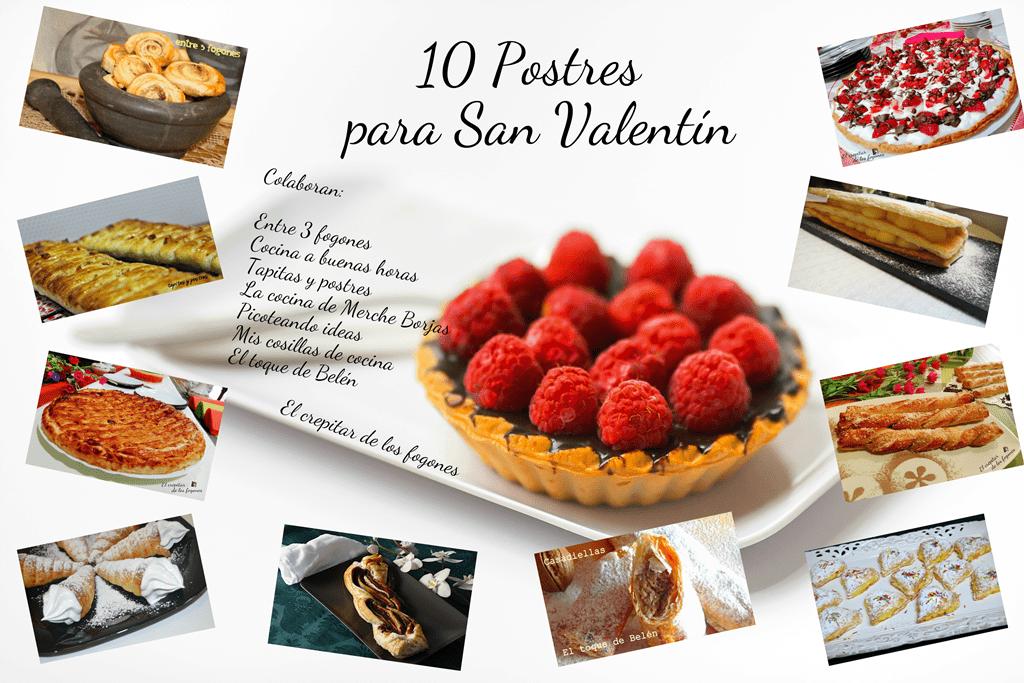 POSTRES PARA SAN VALENTÍN (10 recetas fáciles, rápidas y económicas)