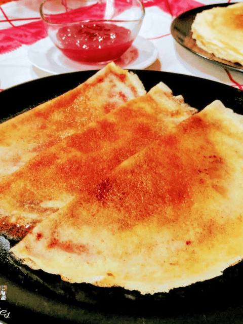filloas de leche