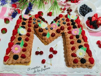 tarta abecedario
