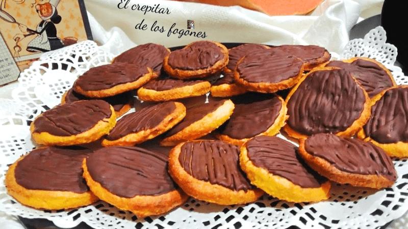 GALLETAS DE CALABAZA, COCO Y CHOCOLATE