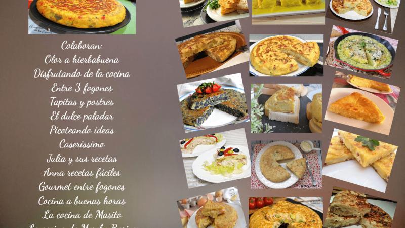 16 TORTILLAS DE PATATA IMPRESCINDIBLES EN TU RECETARIO