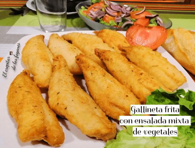 gallineta frita