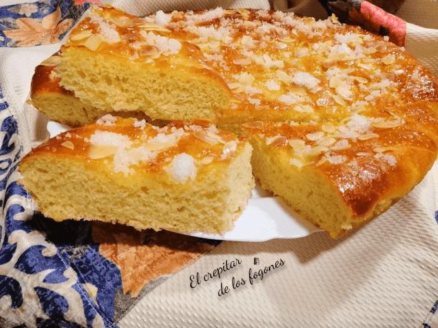 torta de pan dulce