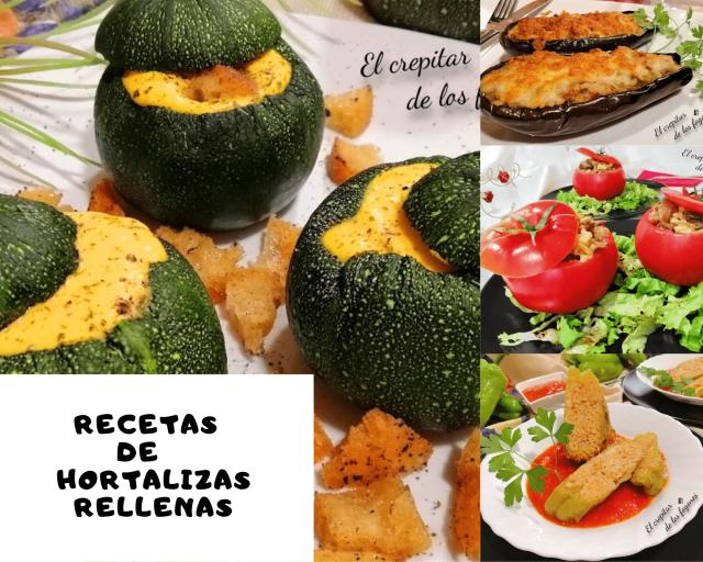 recetas de hortalizas rellenas