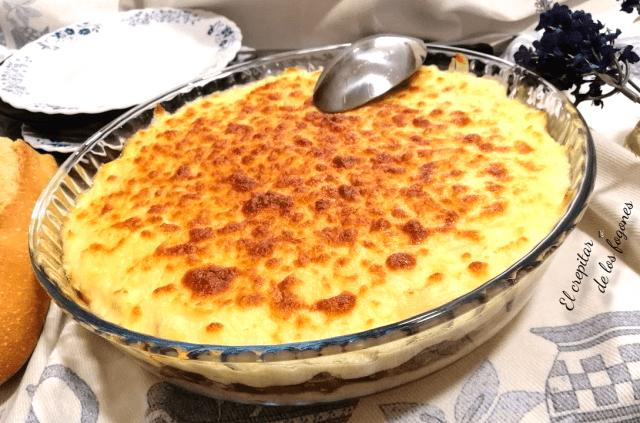 pastel de parmentier de patata