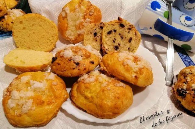 panecillos de mantequilla