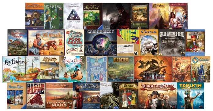 Masterpieces of Eurogame