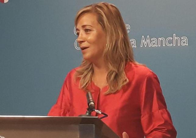 Lola Merino, portavoz del Grupo Parlamentario PP
