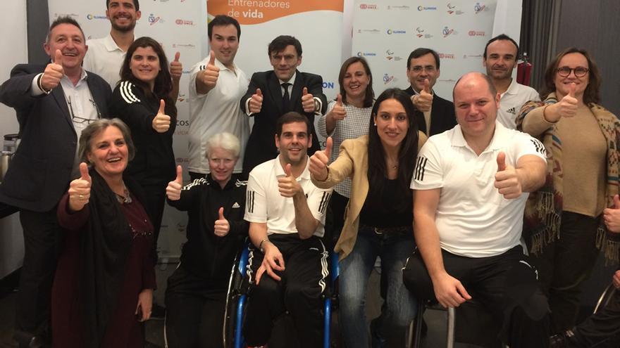 """""""Trainers Paralímpicos"""" FOTO: Fundación ONCE"""