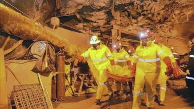 Dos mineros mueren al caerse el techo de una galería de una mina en Súria
