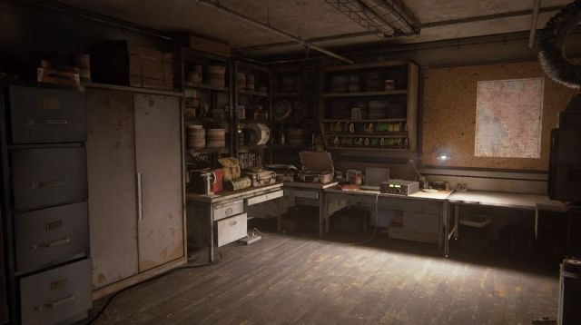 Captura de un escenario de 'The Last of Us II'