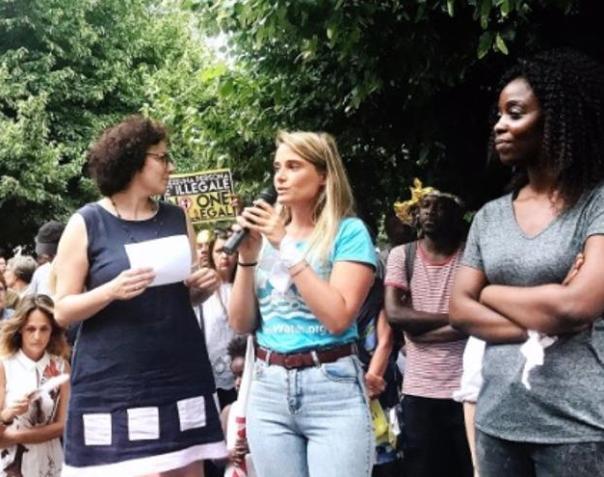 Imagen de la protesta que tuvo lugar el pasado martes 12 de junio en Milán.