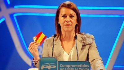 La ex secretaria general del Partido Popular, María Dolores de Cospedal