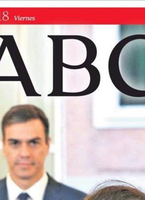 Portada ABC 12/10/2018