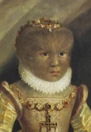 Retrato de Antonieta Gosalvús atribuido a Lavinia Fontana (1552-1614)
