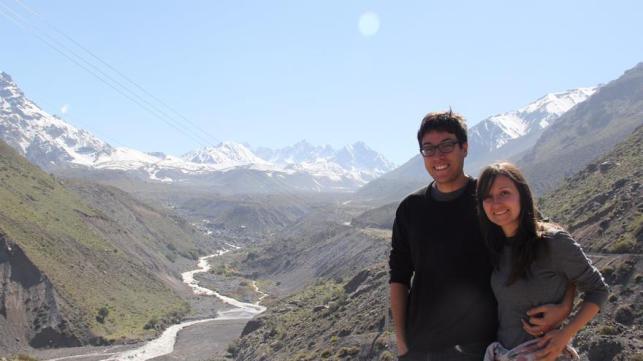 Sara y Santacruz en Chile