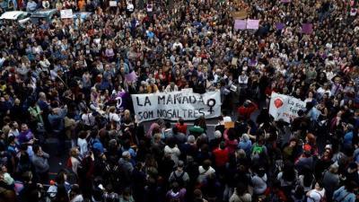 La concentración de Valencia contra la sentencia de 'la manada'