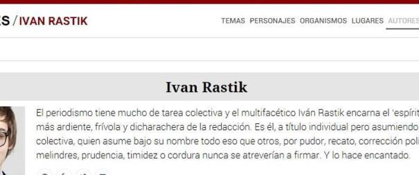 El perfil de Ivan Rastik