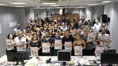 Los trabajadores y ex trabajadores de El Correo de Andalucía defienden la cabecera centenaria.