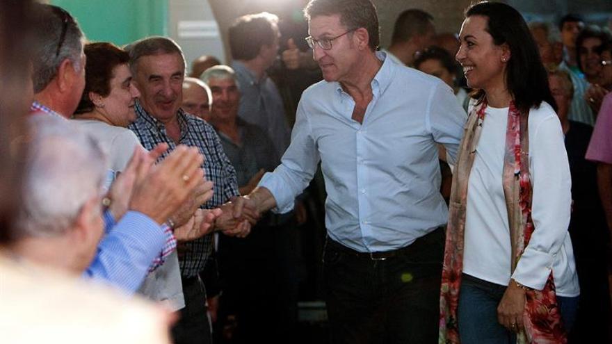 Feijóo no ve factible alcaldes de Cs y Vox en Galicia
