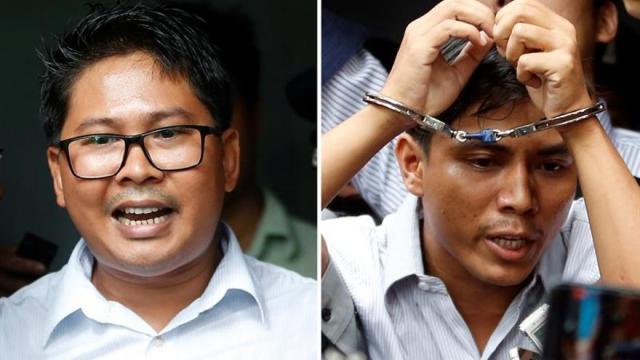 El Tribunal birmano desestima la apelación de los dos periodistas presos de Reuters