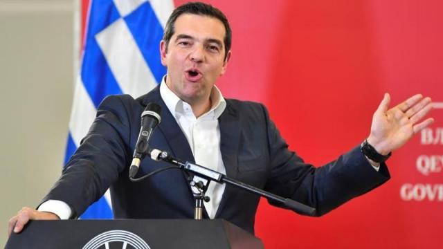 Tsipras solicitará la confianza del Parlamento para evitar la moción de censura