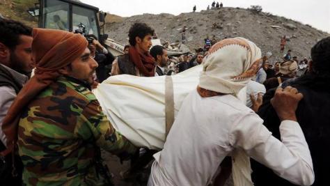 La coalición árabe es responsable del 60 % de las muertes de civiles en Yemen