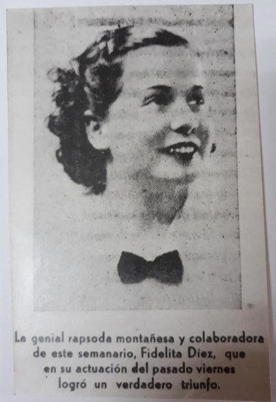 Díez en 1936 | Archivo AGE Cantabria