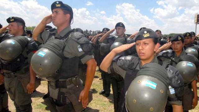 Envían gendarmes al conurbano por la inseguridad