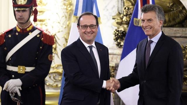 Macri Hollande II