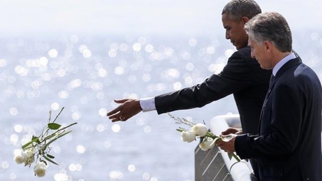 Macri - Obama
