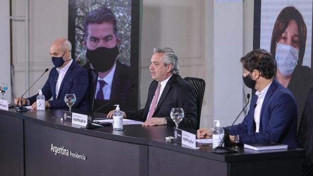 """Horacio Rodríguez Larreta, jefe de gobierno porteño: """"Llevamos 25 ..."""
