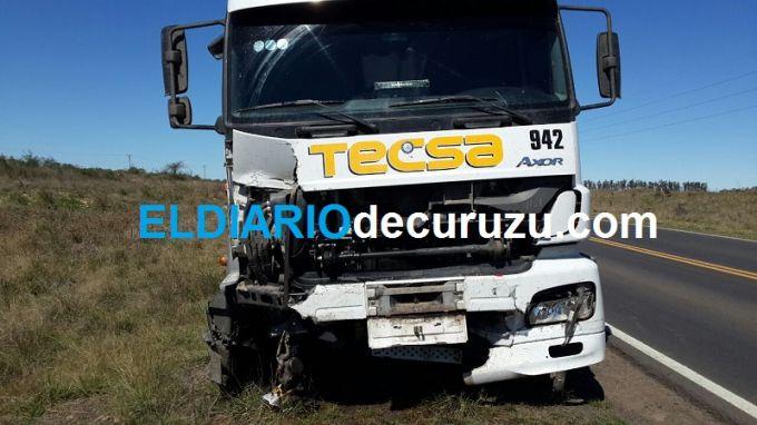 Ruta 119: Accidente deja tres personas sin vida