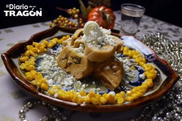 Tamales de Pavo con rajas