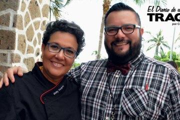Chef Betty Vazquez y Carlos Serna el Tragón Entrevista a la Chef Betty Vázquez