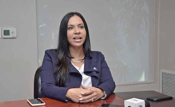 Katy Lizardo, directora administrativa de la CFZS.