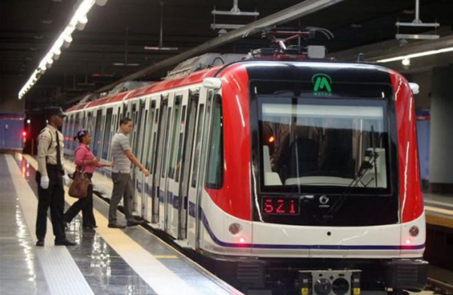 metro de santo domino caos transito