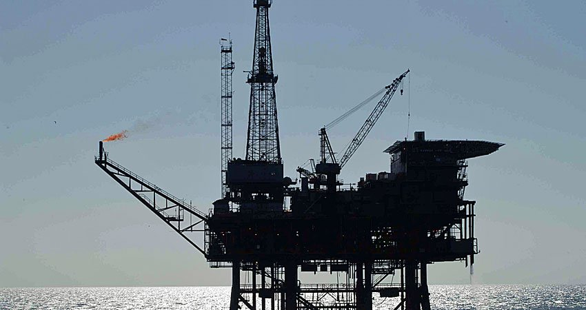 plataforma petroleo