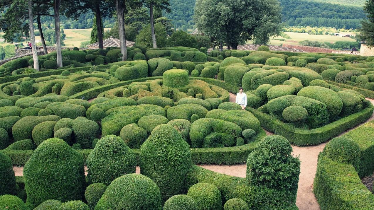 jardines de Marqueyssac