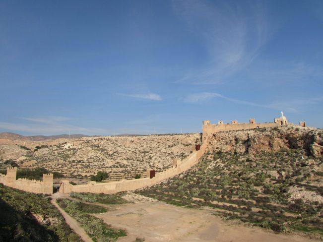 alcazaba de almeria murallas