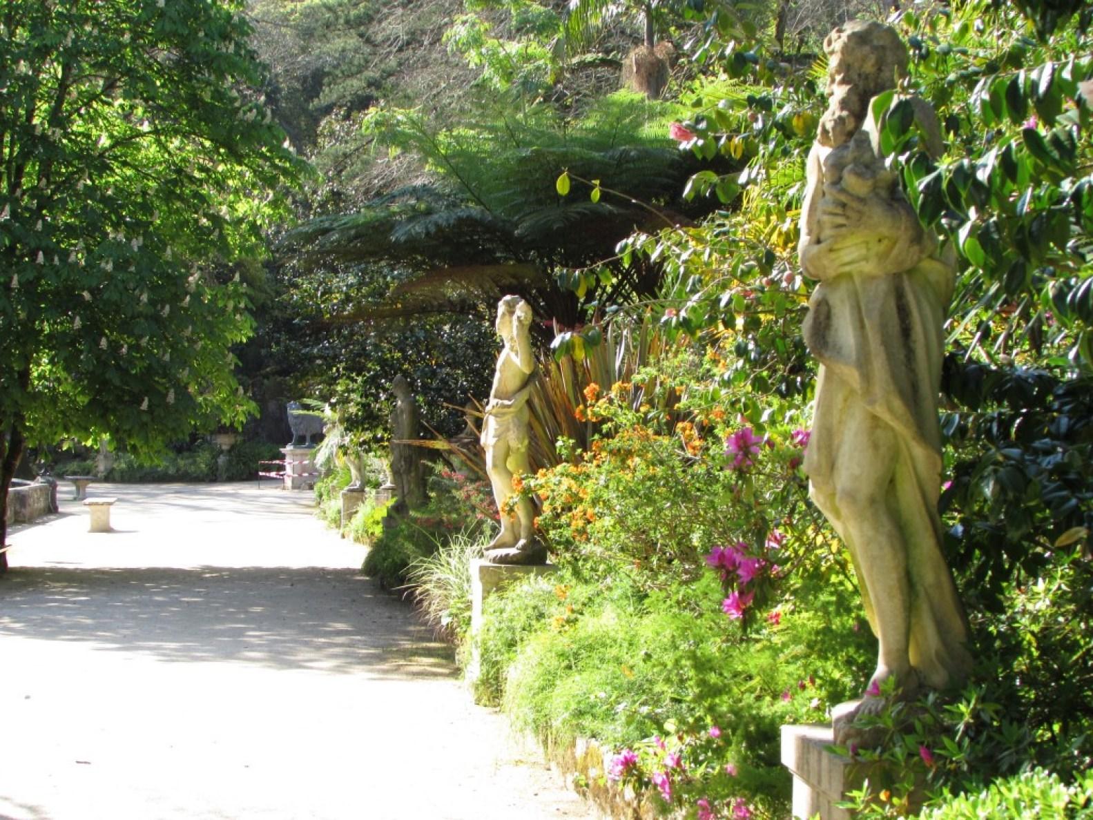 jardines de la quinta da regaleira portugal