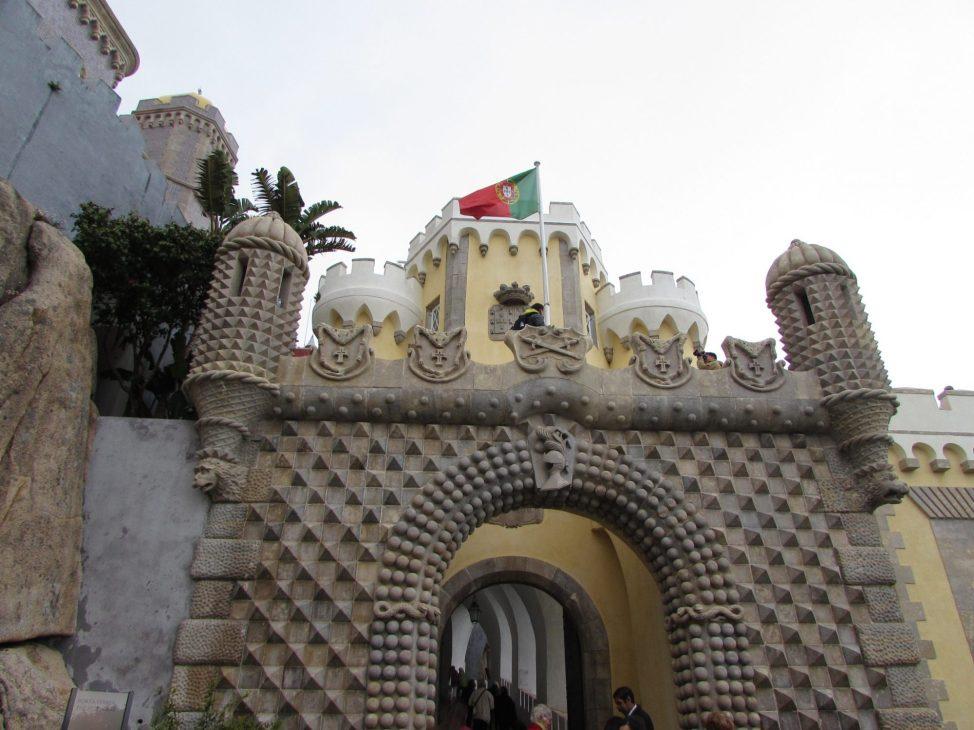 Puerta palacio da pena
